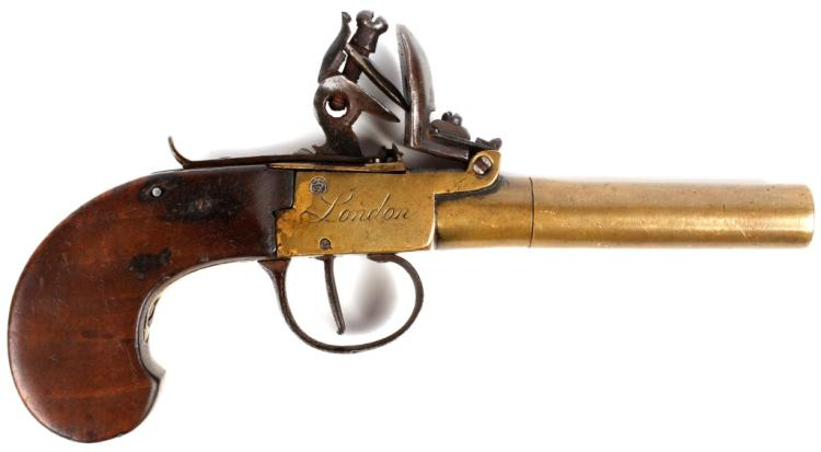 LONDON FLINTLOCK PISTOL