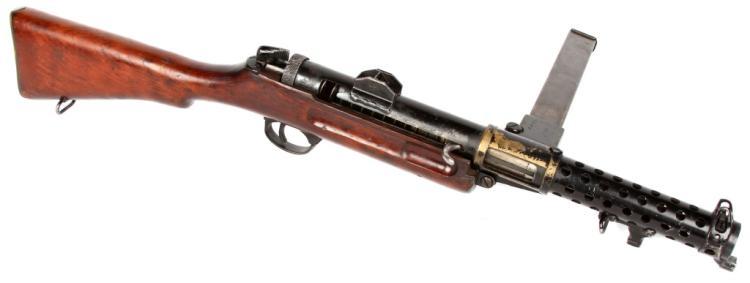 WWII BRITISH LANCHESTER MKI SUBMACHINE GUN