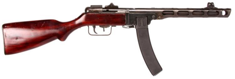 RUSSIAN PPSH-41 SUBMACHINE GUN CLASS III & EXTRAS