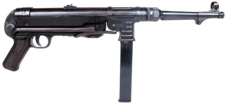 WWII GERMAN STEYR MP40 SUBMACHINE GUN BNZ 42
