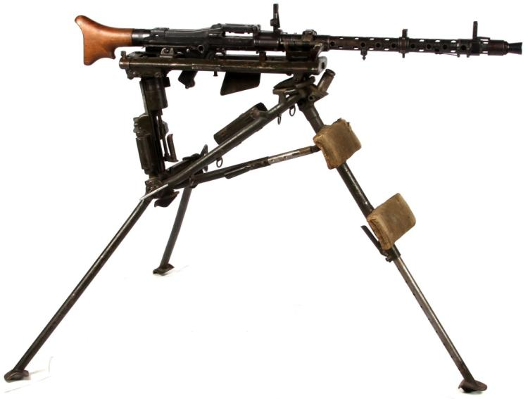 WWII GERMAN MG34 MACHINE GUN CLASS III C&R