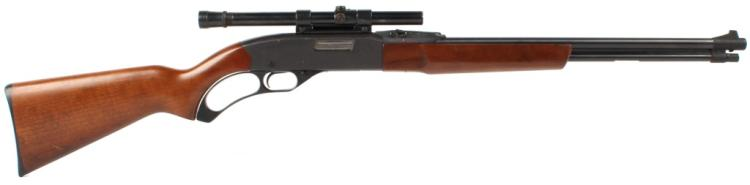 WINCHESTER MODEL 250 LEVER ACTION RIFLE 22 CALIBER