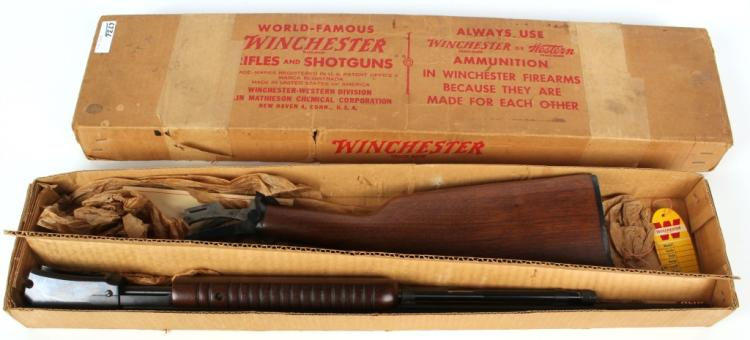 WINCHESTER MODEL 62 PUMP .22 S-L-LR 1957