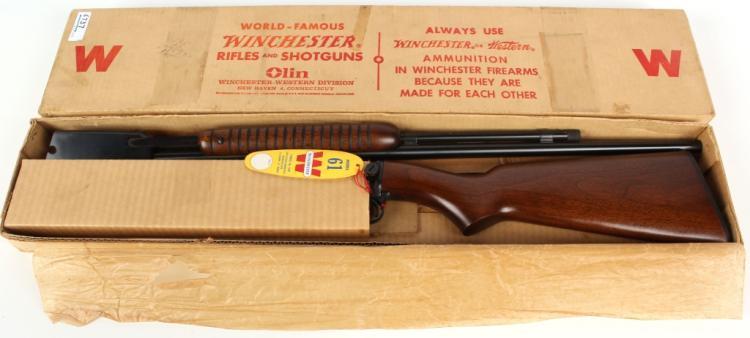 WINCHESTER MODEL 61 .22 S-L-LR PUMP RIFLE 1962