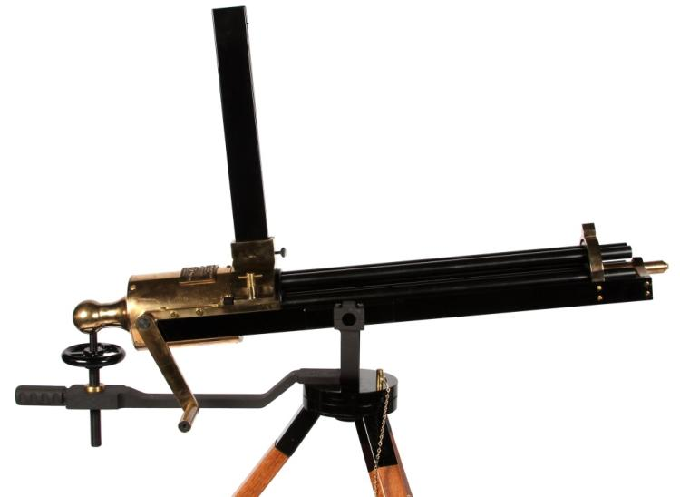 BATTERY GUN CO 45 CAL MODEL 1862 GATLING GUN