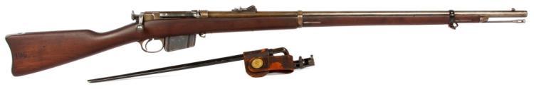 US NAVY M1885 REMINGTON-LEE RIFLE AND BAYONET