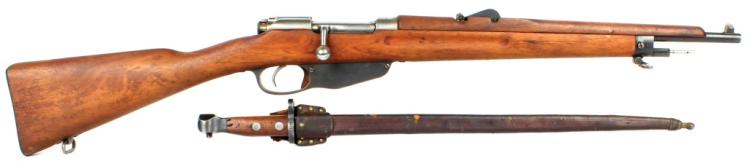WWI DUTCH HEMBRUG 1918 CARBINE WITH BAYONET