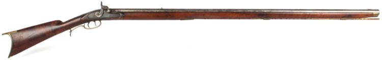 J.P. LOWER PERCUSSION LONG RIFLE HENRY & SON