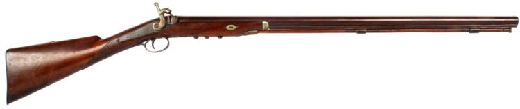 TACK DECORATED UNMARKED PERCUSSION MUSKET