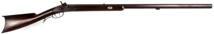 J. HENRY & SON HALF STOCK PERCUSSION RIFLE
