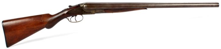 EARLY L.C. SMITH 12 GA HAMMERLESS SHOTGUN