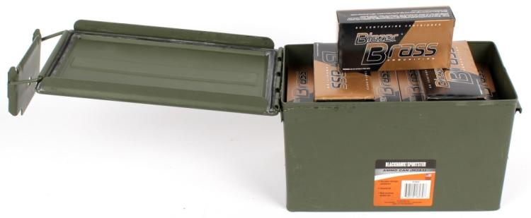 AMMO CAN 850 ROUNDS BLAZER 45 AUTO AMMUNITION