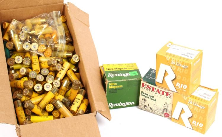 APPROXIMATELY 20 LBS OF 20 GAUGE SHOT SHELLS