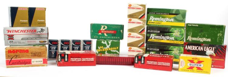 LARGE LOT MIXED CALIBER AMMUNITION