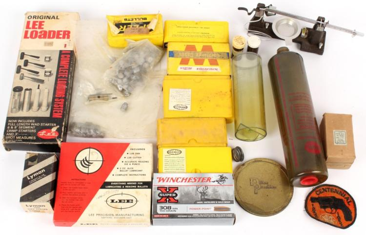 MIXED LOT OF RELOADING ITEMS