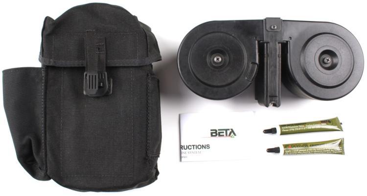 BETA C-MAG 5.56mm 100 ROUND SADDLE MAGAZINE