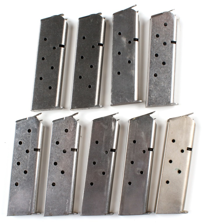 45 COLT MAGAZINE LOT OF 9