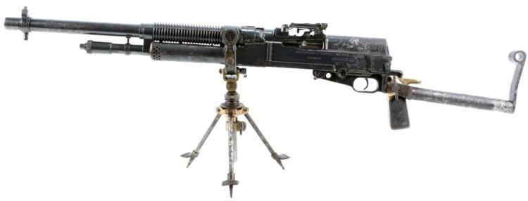 portable machine gun