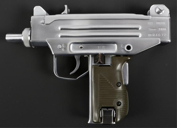 ACTION ARMS IMI UZI PISTOL 9mm PARA