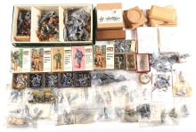 HUGE LOT OF FIGURINES 54mm 25mm AND MORE