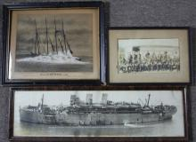 FRAMED US MILITARY PHOTOGRAPH LOT OF 3