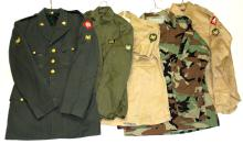 US ARMY UNIFORM LOT OF 5