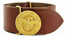 WWII GERMAN NSDAP POLITICAL LEADER BELT RZM