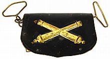 CIVIL WAR ARTILLERY OFFICER'S CARTRIDGE BOX