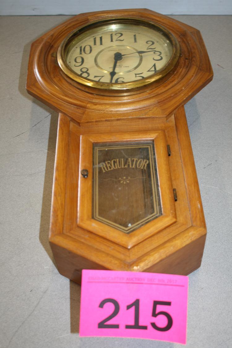 Westminster Chime Regulator Clock