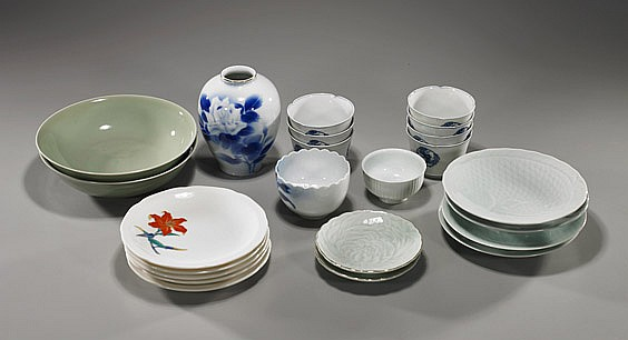 Group of Various Japanese Porcelains
