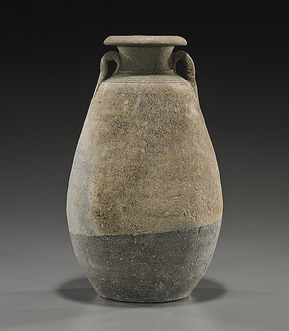 Southeast Asian Parcel Glazed Vase