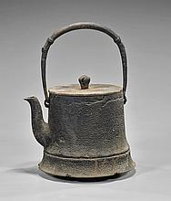 Antique Japanese Iron Teapot