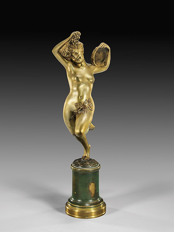 FRENCH ART DECO BRONZE NUDE