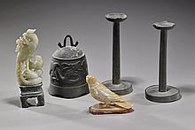 Group of Five Various Chinese Items