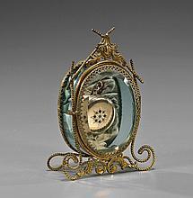 Vintage Ladies' Pocket Watch & Display Case