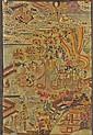 Chinese Unmounted Buddhist Silk Painting