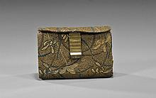 Antique Japanese Brocade Purse