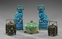 Group of 5 Various Chinese Items