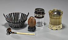 Group of 5 Various Items- Mostly Tortoise Shell