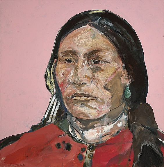 OIL PORTRAIT PAINTING BY IRA YEAGER