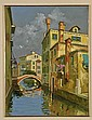 Oil on Canvasboard Painting by L. Sollazzi, Lucio Sollazzi, Click for value