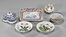 Group of Six Various Ceramics