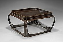 Old Japanese Lacquered Low Table