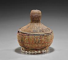 Antique African Woven Basket