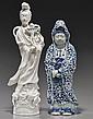 Two Older Asian Porcelain Figures