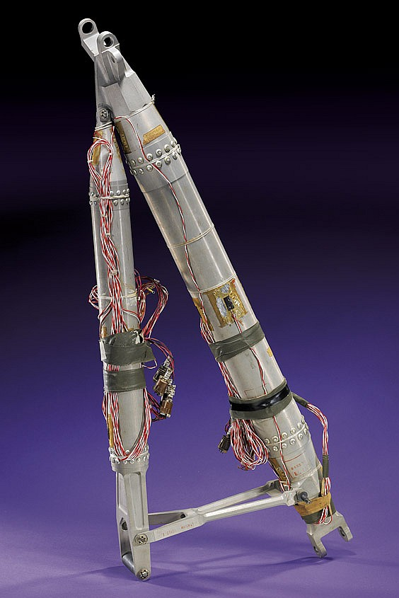 APOLLO LUNAR MODULE LEG SECTION