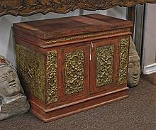 Antique Asian Lacquered Cabinet/Stand