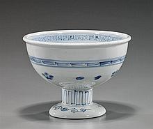 Antique Japanese Porcelain Footed Bowl