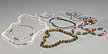 Collection of Various Chinese Bead Necklaces