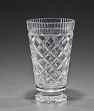Signed Waterford Crystal Vase